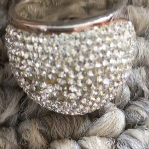 Jewelry - Statement Size 6.5 Sterling Silver dome ring